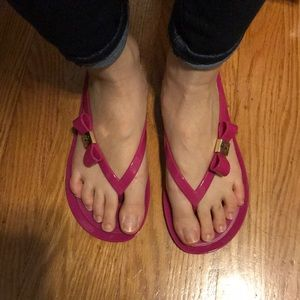 Tory Burch jelly flip flops